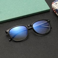 blue light protection glasses men bluelight radiation women tr90 computer protection gaming glasses round glasses anti blue