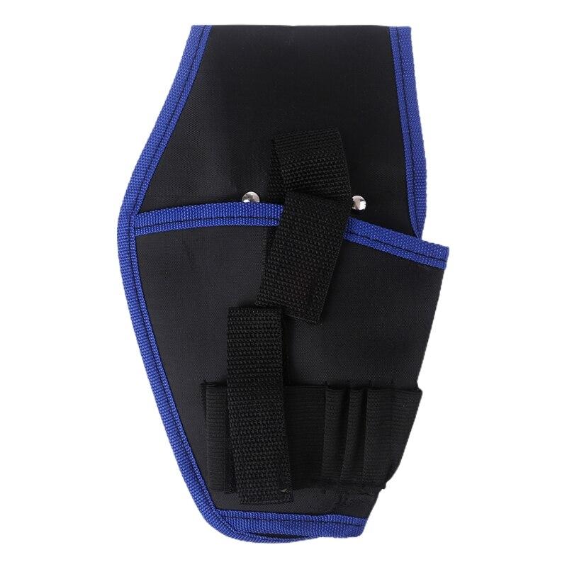 Сумка поясная для дрели, Портативная Сумка-держатель для дрели, сумка Беспроводная для дрели 12 В