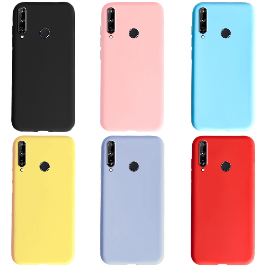 Мягкий тонкий чехол для телефона Huawei P40 Lite E P40Lite M30Lite Y9Prime2019 P30Lite P30Pro P20Lite M20Lite, чехлы карамельных цветов
