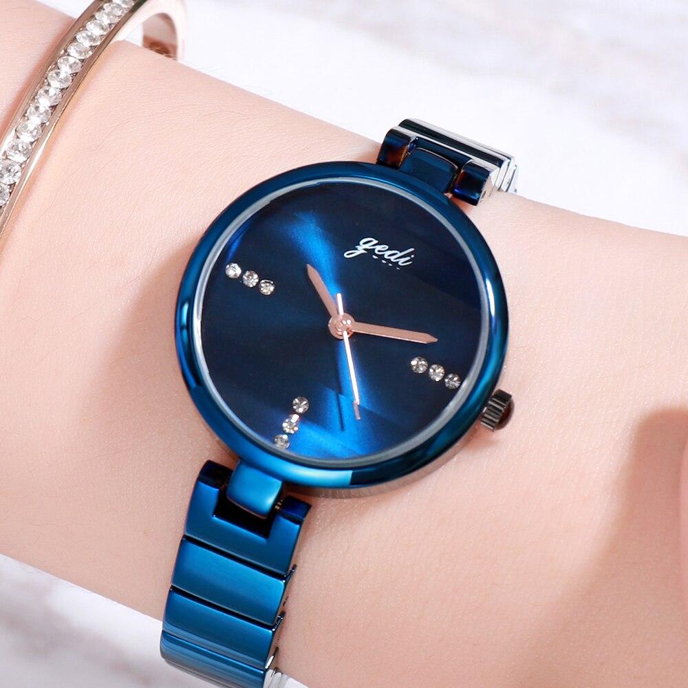 Elegant Women Quartz Wristwatch Fashion Bracelet Watch Elegant Analog Women's Watches Exquisite Casu