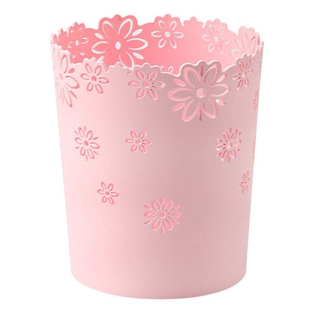 Creative Small Trash Can Household For Kitchen Living Room Bedroom Mini Desktop Storage Bin Without Lid