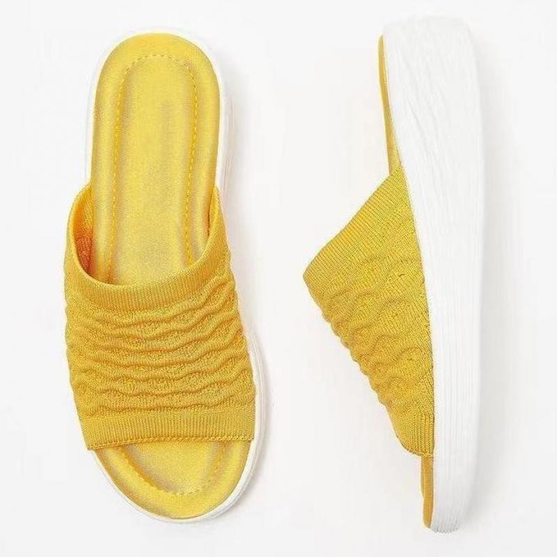 Sandalias para Mujer, calzado plano pantuflas, chanclas antideslizantes De baño, suelo De...