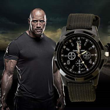 brand canvas casual reloj hombre Luxury Brand Men's Casual Quartz Watch Military Canvas Strap Men Casual Outdoor Watches relogio masculino montres