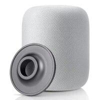 Support de Base en metal pour enceinte Bluetooth intelligente  rond en acier inoxydable  pour Apple HomePod  95x95x20mm
