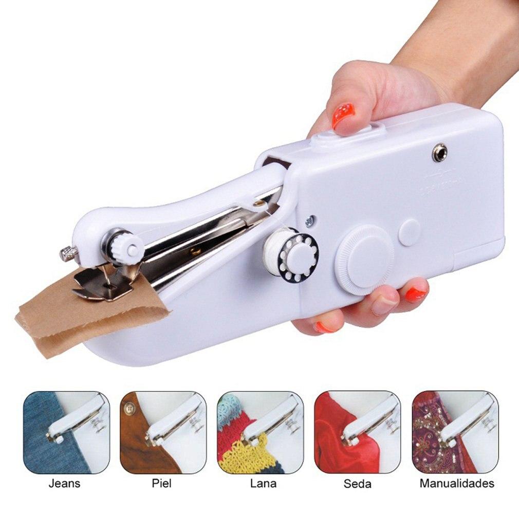 Handheld Portable Sewing Machine Hand-Held Multi-Function Mini Electric Sewing Machine Sewing Machine