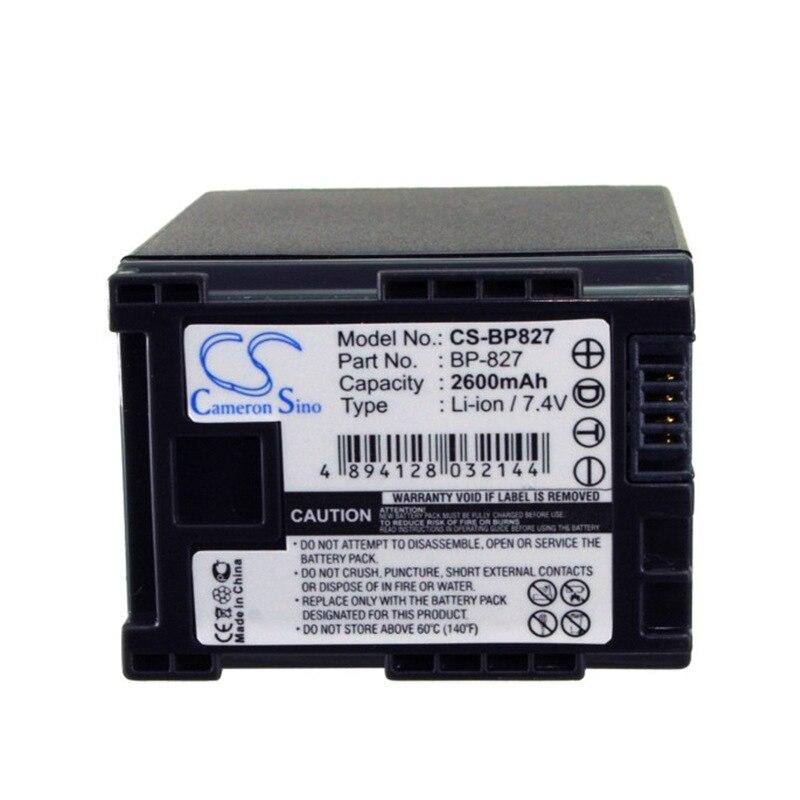 CameronSino for CANON FS10 Flash Memory Camcorder VIXIA HF M300  HF M301  HF M31  HF M32  HF M40  HF M400 HF M41 battery