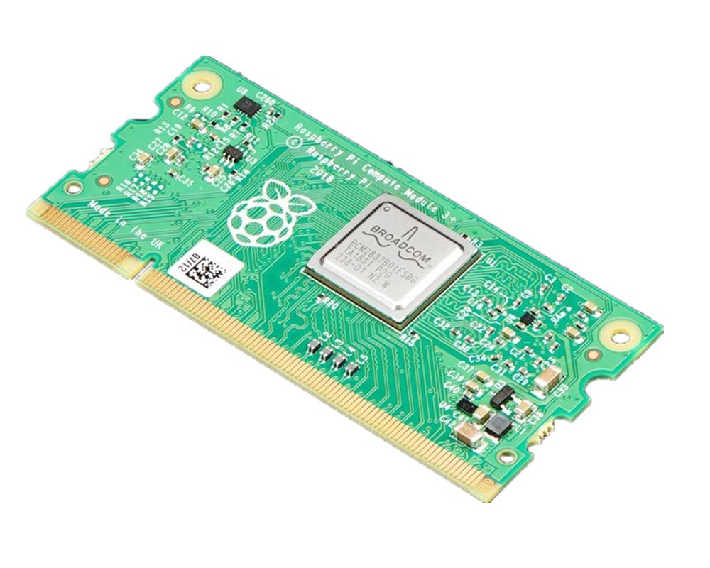 Ordenador de placa única, módulo Raspberry Pi Compute 3 +,BCM2837B0 SoC, CM3 + L,CM3 + 8GB,CM3 + 16GB, Memoria eMMC CM3 + 32GB, CMIOV3.0
