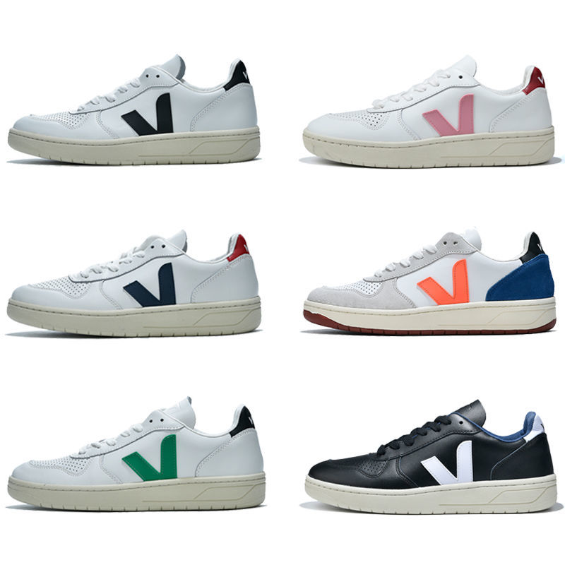 Free Shipping Authentic Veja Fashion Breathable Light Men Women Sneakers Classic High Quality Walking Trainers Couple Shoes
