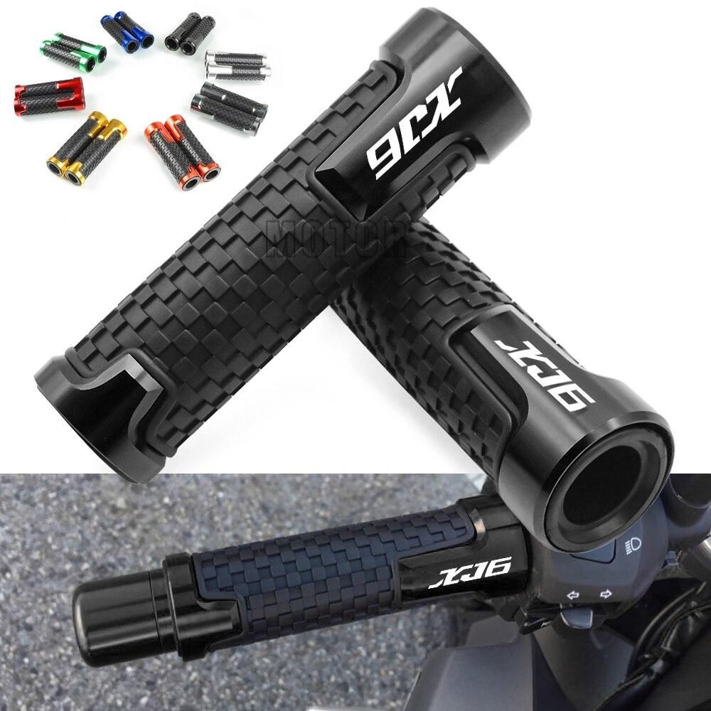 "Para Yamaha XJ6N/XJ6 DESVIO 2009-2015 2010 2011 2012 2013 2014 XJ 6 N Motocicleta 7/8"" 22mm Anti-Slip Guiador guiador Grips"