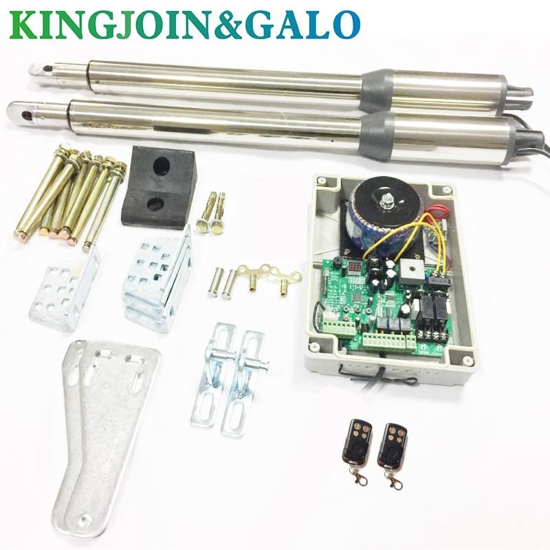 Электрический линейный привод 300 кг, 220 В переменного тока, система двигателя, автоматический Открыватель распашных ворот