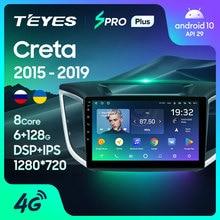 TEYES SPRO Plus pour Hyundai Creta IX25 2015 2016 2017 2018 2019 autoradio multimédia lecteur vidéo Navigation No 2din 2 din dvd