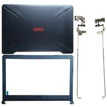 NEW Laptop LCD Back Cover/Front bezel/Hinges For ASUS FX80 FX80G FX80GD FX504 FX504G FX504GD/GE 47BKLLCJN70
