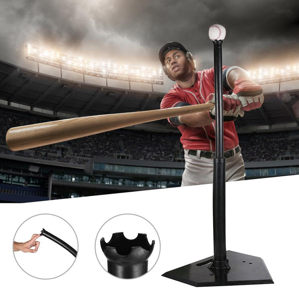 Batting Tee Zware Rubber Baseball Training Softbal Raken Tee Voor Teeball Baseball Sport Batting Tee Training Apparatuur