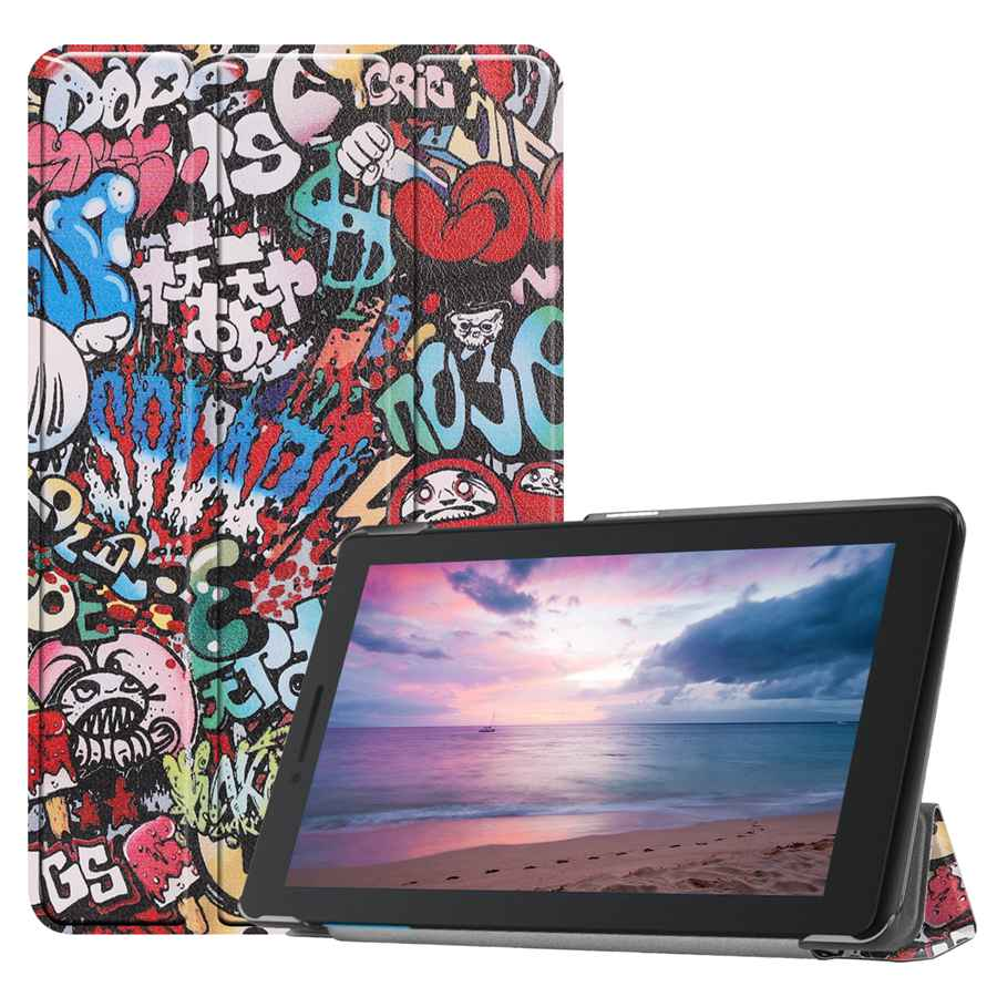 Slim Magnetic Folding Case For Lenovo Tab E8 TB-8304F/L 8.0 inch Funda PU Leather Stand Cover For Lenovo Tab E8 case +FilmPen