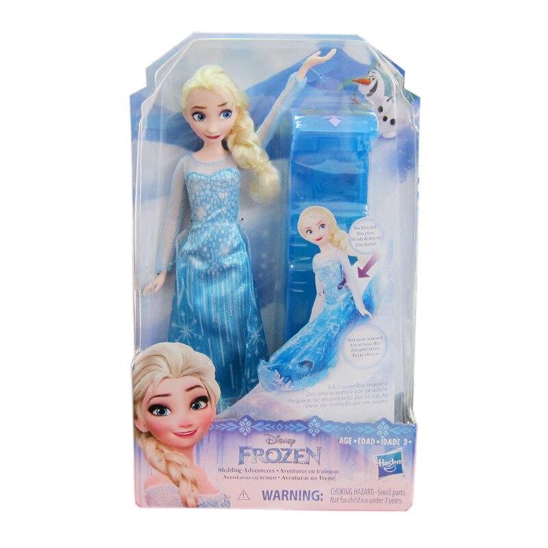 Hasbro muñeca Frozen trineo aventura Elsa Girl Play House simular juguete niños regalos