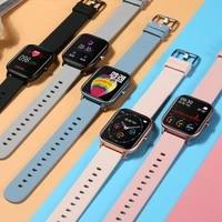 senbono ip67 waterproof p8 smart watch men women sport clock heart rate fitness tracker sleep monitor smartwatch for ios android
