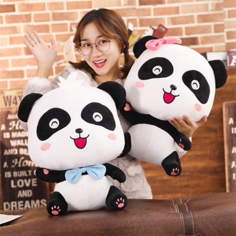 22/35/50cm Cute Panda Plush Toys Hobbies Cartoon Animal Stuffed Toy Dolls for Children Boys Baby Birthday Christmas Gift