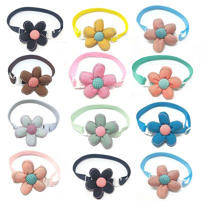 100pcs-pet-accessories-small-dog-cat-puppy-bowtie-collar-flower-pet-supplies-dog-bowtie-grooming-accessories-pet-shop
