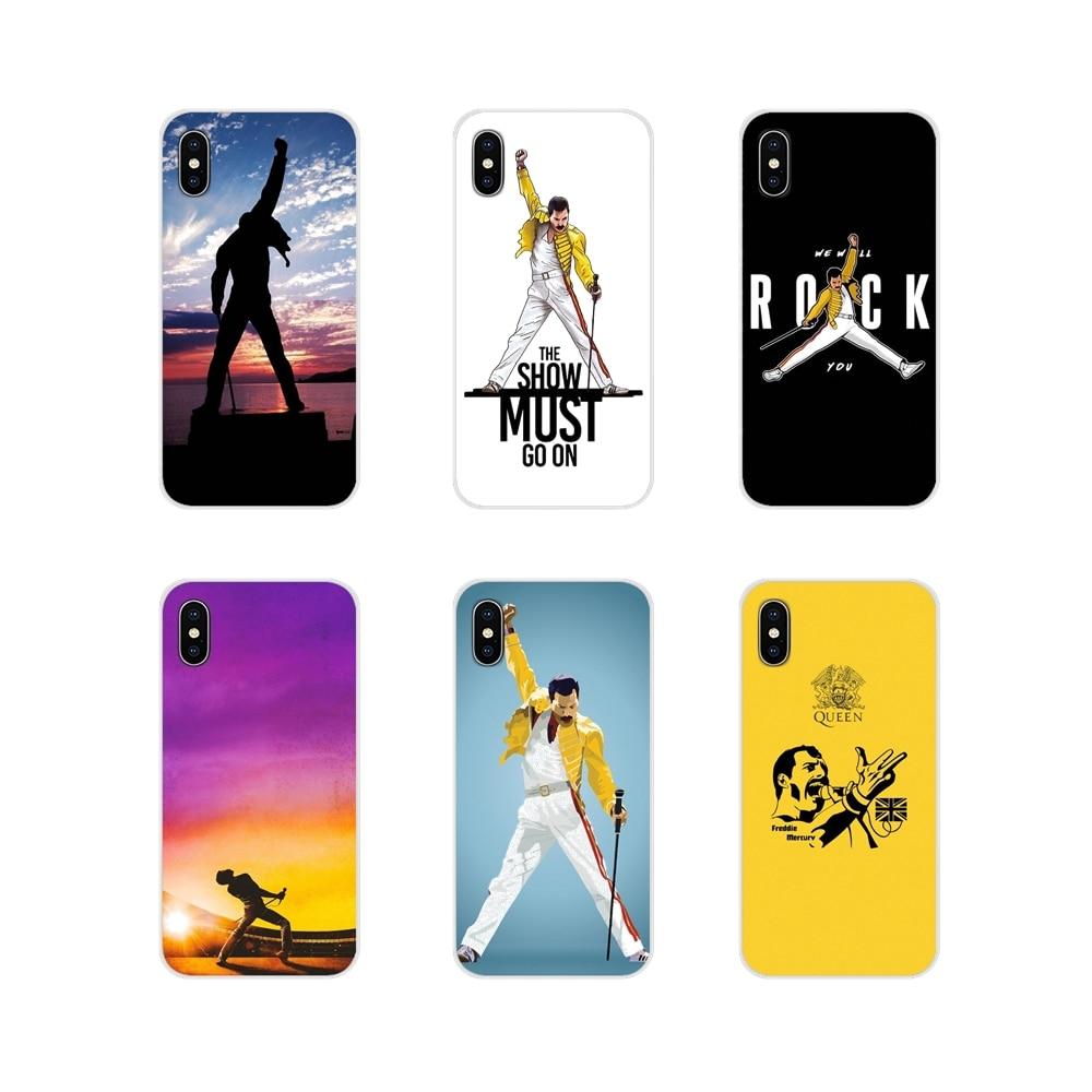 Transparente fundas de carcasa blanda para Huawei G7 G8 P8 P9 P10 P20 P30 Lite Mini Pro P Smart Plus 2017 2018 Queen 2019 Freddie Mercury.