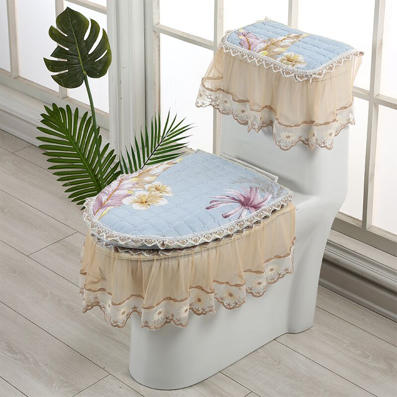 Four Seasons Toilet Seat Cover Cushion Zipper  Toilet Seat Cover Bathroom Accessories Accessori Bagno Household Products DF50MT enlarge