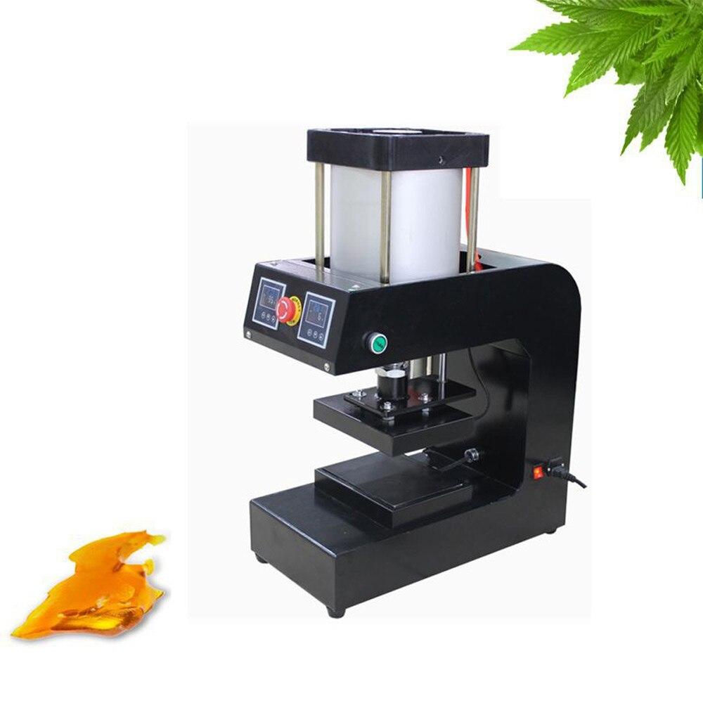 220V/110V 5000PSI Hydraulic Vapor Rosin Press Machine Heat Press transfer 15*20cm dual heated plates Oil Wax Extracting Tool