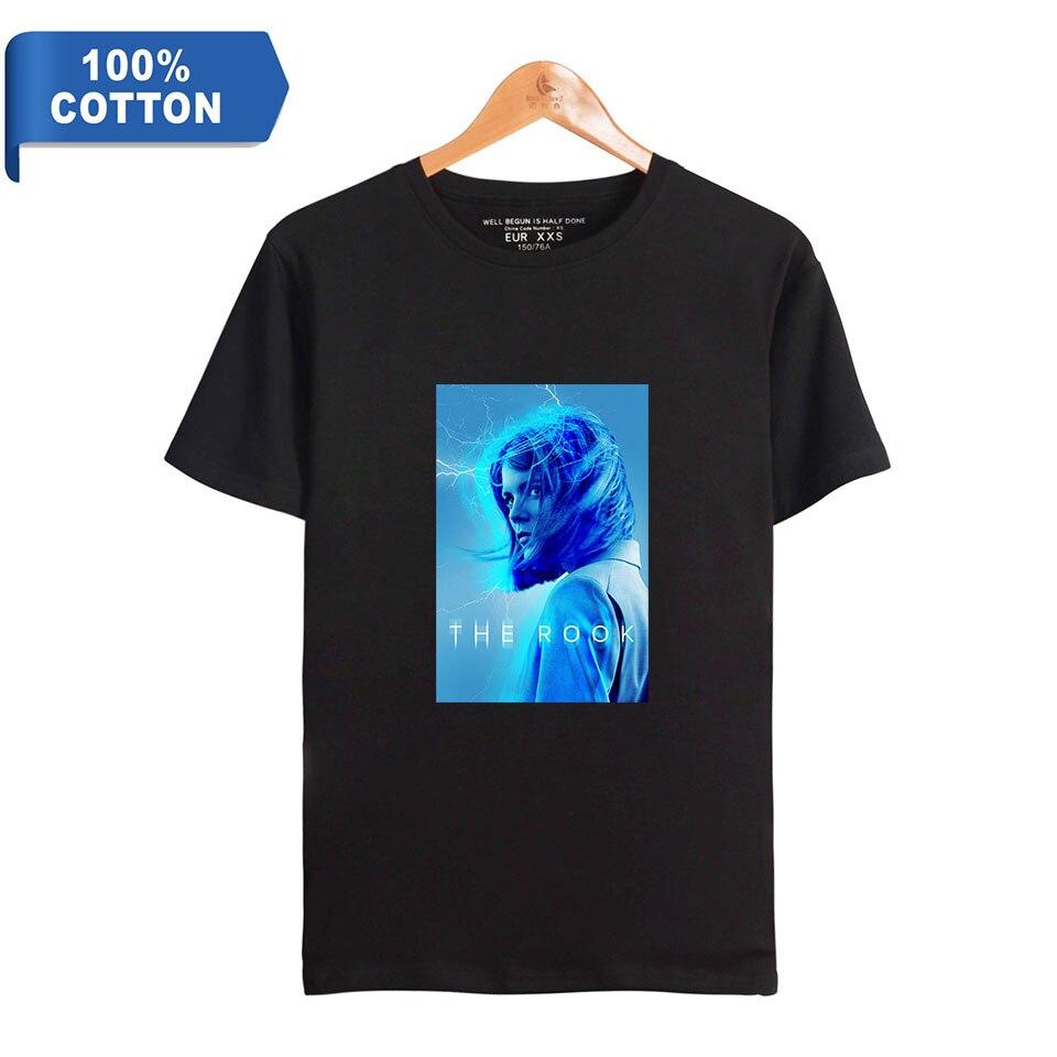 Nueva serie de TV de 2019, camiseta de 100% algodón para mujer/hombre camiseta de manga