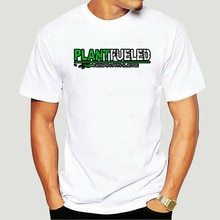 Vegan Plant Aangewakkerd Atleet T-shirt 5876X