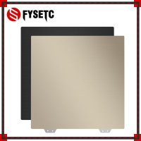 Предварительно применяемый пружинный стальной лист FYSETC PEI + магнитная основа 120/128/150/165/230/235/250/300/310/350 мм для горячей платформы 3D-принтера