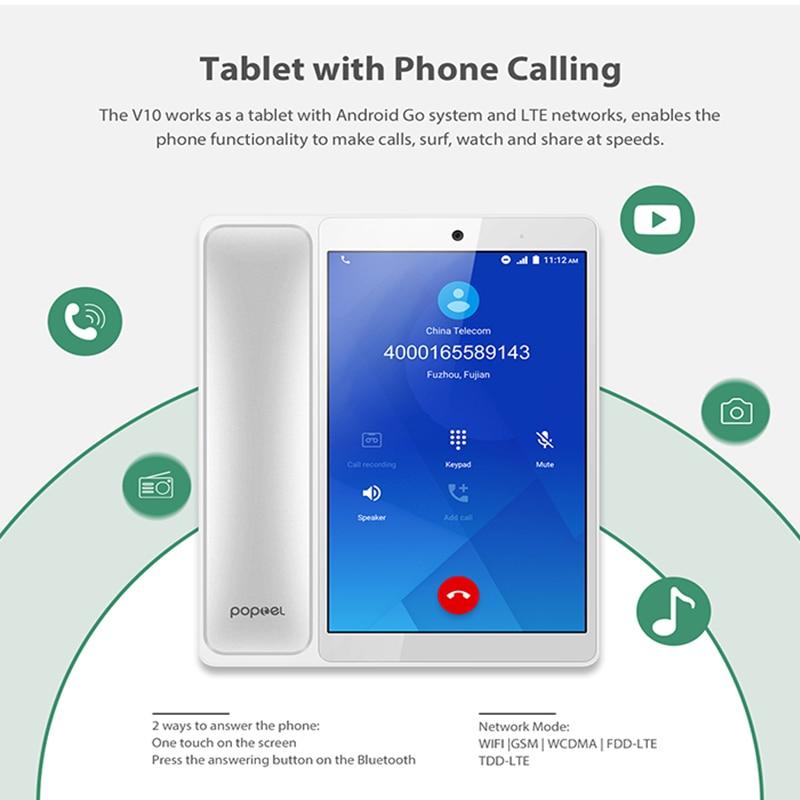 Умный беспроводной видео телефон 8 дюймов 2G/16G Bluetooth телефон видео телефон планшет телефон для дома/офиса/отеля