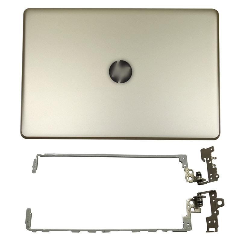 NEW Original for HP Pavilion 15-BS 15T-BS 15-BW 15Z-BW 250 G6 255 G6 Laptop LCD Back Cover Gold/Front Bezel/Hinges 924893-001 new for hp 15 bs 15 br 15 bw 15t br 15 bs 15z bw laptop lcd back cover front bezel hinges palmrest bottom case 924899 001