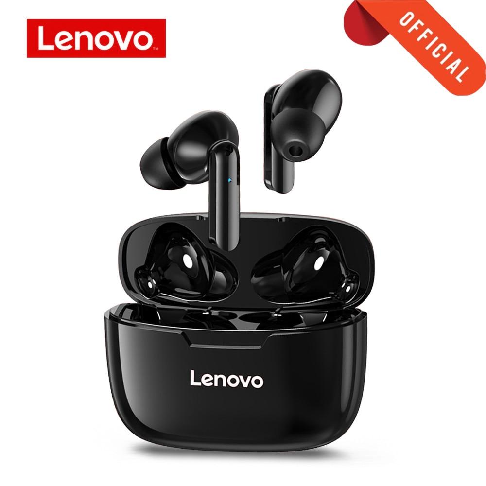 Lenovo Wireless Earphone XT90 TWS Bluetooth 5.0 Sports Headphone Touch Button IPX5 Waterproof Earplu