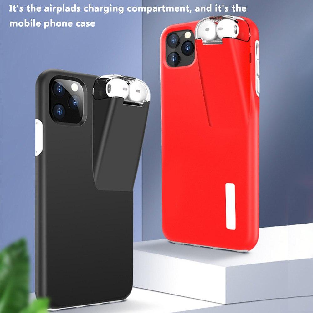 Funda de teléfono móvil con cubierta de auriculares juegos de teléfono móvil soporte de auriculares caja del teléfono de carga gran oferta Dropshipping