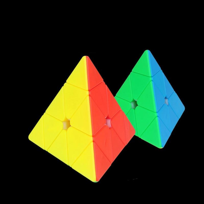 yu xin cubo magico pequeno piramide magica neo tres passos triangulo 3 pedidos brinquedos