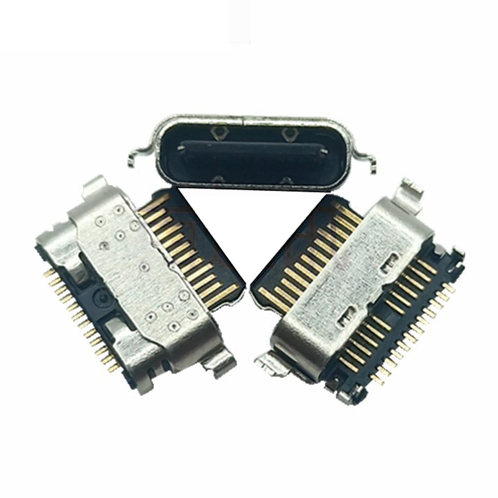 2-20pcs USB Type C Power Connector Jack For Samsung A11 A115F A02S A025F A01 Core A013F USB-C Charging Dock Charge Socket Port