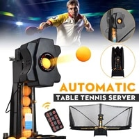 table tennis robot automatic launcher table tennis robot machine multifunctional recycle balls ping pong ball trainer machine