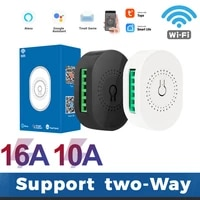 Tuya ZigBee 3 0 Smart Light Switch Module Smart Home Automation DIY Breaker Supports 2 Way Control Compatible Alexa Google Home