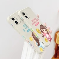 sisters apply phone case for iphone 12 11 pro max x xs xr xsmax se2020 8 8plus 7 7plus 6 6s plus liquid silicone cover