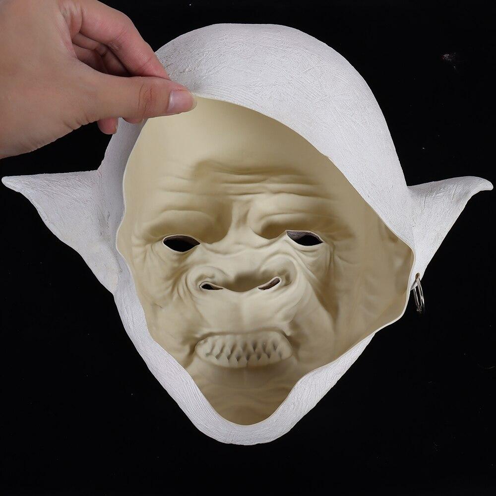 Купить с кэшбэком Devil Mask Goblin Masks Horror Halloween Costumes Masques Face Mascarillas Demon Anime Mascaras Imp Latex Helmet Dropshipping