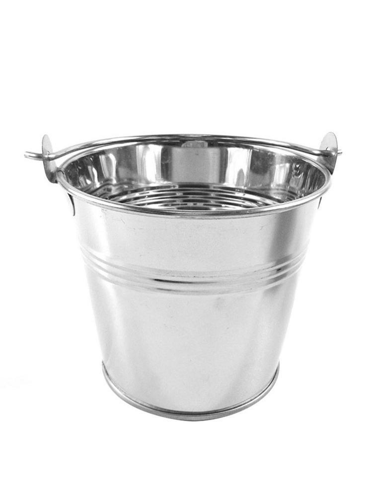 Мини ведро для льда фри баррель фаст-фуд столовые приборы для отеля бар Офисное оборудование ледоотборник для бара принадлежности французский для картофеля фри инструмент