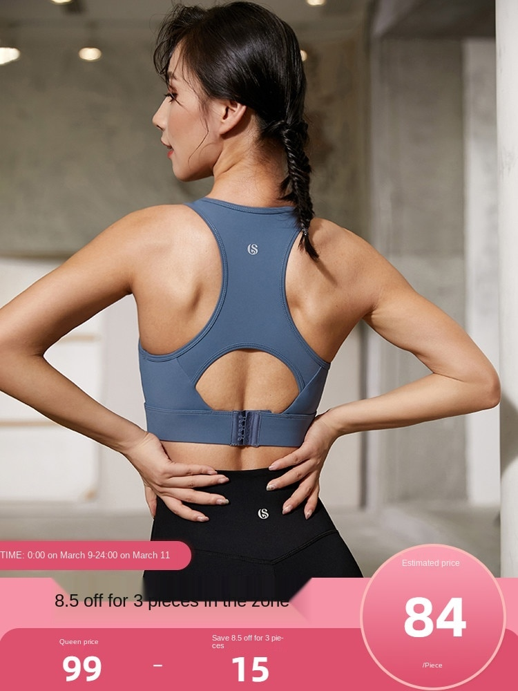 Stormtrot's Lori Sports Underwear Women's ShockProof Running High Intensity Sports Bra Yoga