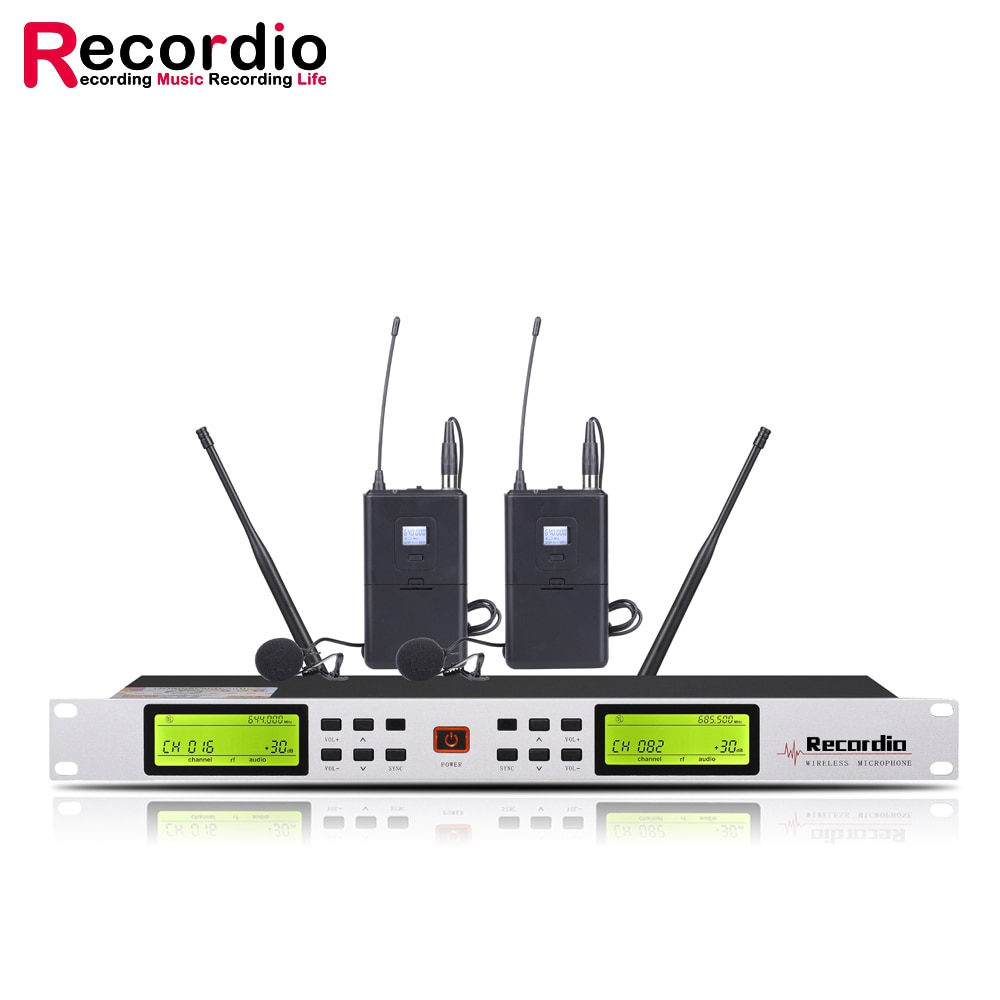 GAW-L500 Best selling professional UHF wireless microphone with a transmission distance of 100 meters enlarge