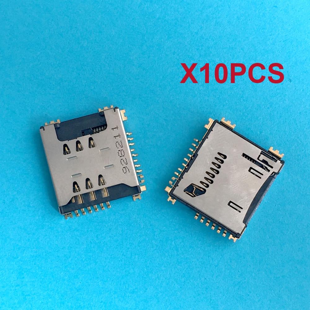 10/20/50PCS For LG KP500 KP502 GD310 KF350 GD330 KG70 KG70C KE970 Sim Card Memory SD TF Tray Slot Holder Socket
