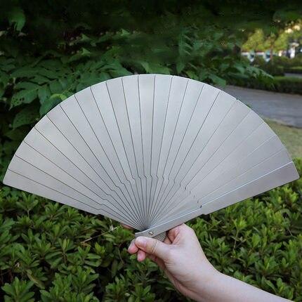 Titanium Alloy Folding EDC Fan Tactical Self-defense Fan
