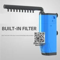 aqurium filter 110v 220v surface skimmer filter oil removal aquarium fish tank adjustable flow air increase oil protein collect