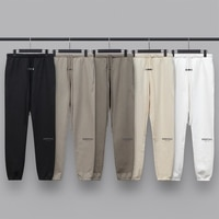 2021 new Sweatpants 100% 1:1 Street wear kanye west jerry sweatpants  ovesized trousers hip hop cotton hoodie pants