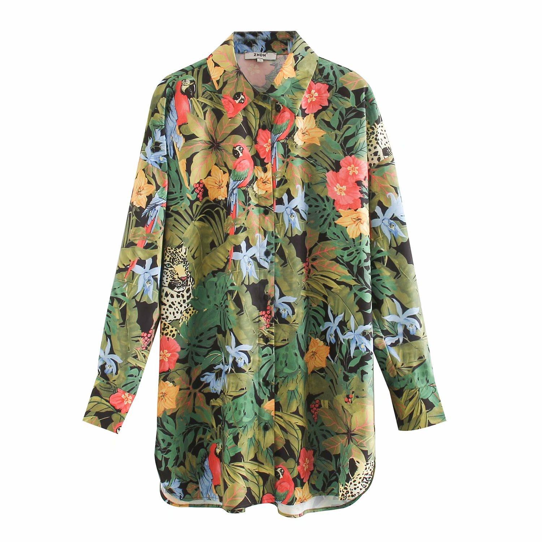 2020 primavera novedad de verano gran premio suelto zaraing blusa de las mujeres, camisa de sheining vadiming mujer damas de talla grande camisa XDN9533