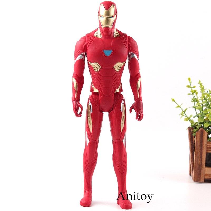 Figuras infinitas de la Guerra de los Vengadores de la serie Titan Hero 3, figuras de Iron Man, figuras de Iron Man, colección de figuras de acción de PVC, juguetes de regalo