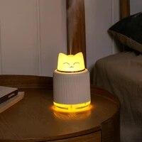 Humidificateur dair 3 en 1 USB 300ml  Adorable lampe pour animaux de compagnie  brume fraiche ultrasonique  diffuseur dhuile essentielle daromatherapie  purificateur dair pour maison et voiture