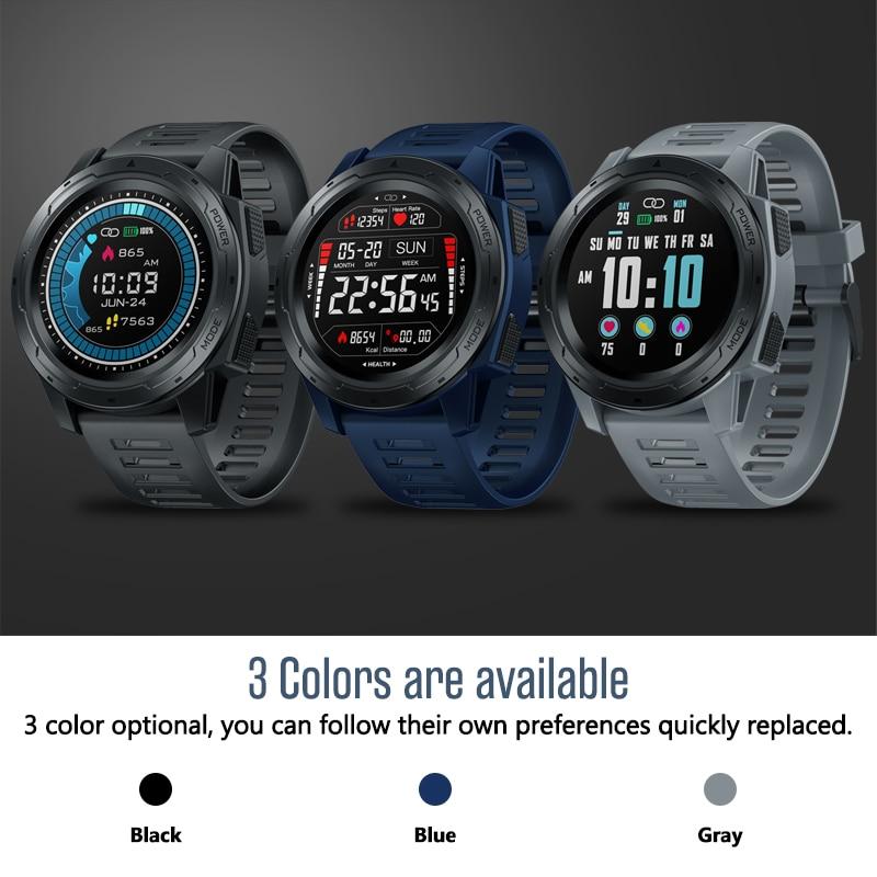 Reloj inteligente Zeblaze vibe 5 PRO, reloj inteligente IP67 con frecuencia cardíaca, pantalla táctil en Color, pk vibe 4 3 pro Muestra montre swatch reloj swatch inteligente çalışmaları saat kospet primer smart watch
