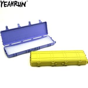 Plastic Storage Box Decoration Tools Simulation Tool Box for 1/10 RC Crawler Car Axial SCX10 TRX4